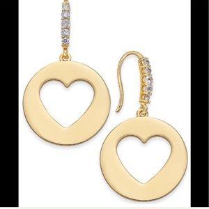 Kate Spade ♠️ Heart Drop Earrings